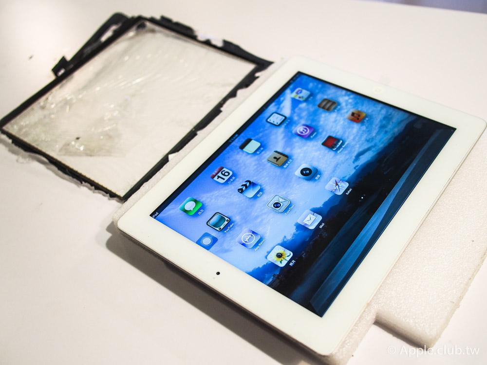 換上原廠觸控玻璃的New iPad看起來就跟新的一樣!