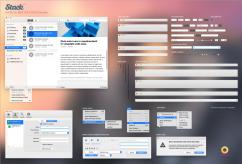 設計師必備YOSEMITE UI PSD檔 (含圖層)